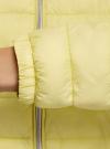 Куртка-бомбер на молнии oodji #SECTION_NAME# (желтый), 10203061-1B/33445/5000N - вид 5