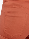 Шорты стретч oodji для женщины (красный), 12807071B/45610/3100N