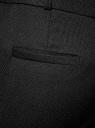 Брюки из фактурной ткани с ремнем oodji #SECTION_NAME# (черный), 21714019-3/46742/2900N - вид 5