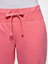 Брюки трикотажные (комплект из 2 пар) oodji #SECTION_NAME# (розовый), 16700030-5T2/46173/4A00M - вид 4