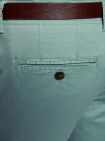 Шорты хлопковые с ремнем oodji #SECTION_NAME# (зеленый), 2L710026M/46713N/6C00N - вид 4