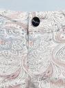 Джинсы slim fit принтованные oodji #SECTION_NAME# (белый), 12103123/35323/1219E - вид 4