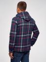 Рубашка утепленная с нагрудными карманами oodji для мужчины (синий), 1L515016M/48758N/7945C
