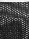 Юбка прямая жаккардовая oodji #SECTION_NAME# (черный), 21601236-13/46373/2912D - вид 5