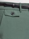 Брюки классические со стрелками oodji для женщины (зеленый), 21706031/42314/6900N
