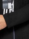 Кардиган трикотажный без застежки oodji для мужчины (черный), 5L800040M/50167N/2900N