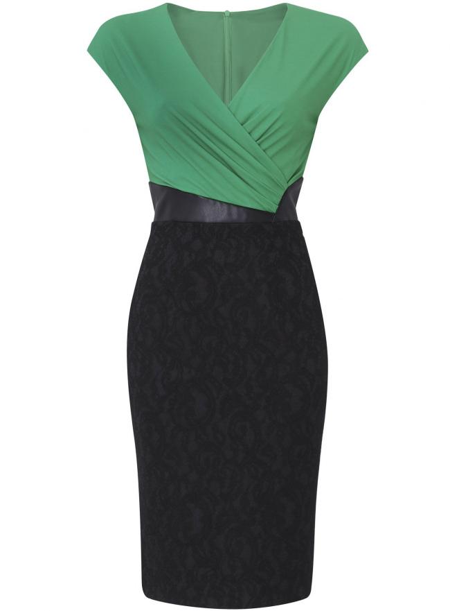 Платье oodji для женщины (черный), 21900338/43561/296DB