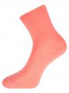Комплект из трех пар хлопковых носков oodji #SECTION_NAME# (разноцветный), 57102804T3/48022/32 - вид 3