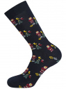 Комплект из трех пар носков oodji для мужчины (разноцветный), 7O233003T3/47469/7919J