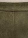 Шорты-трапеция из искусственной замши oodji для женщины (зеленый), 18M01000/47301/6800N