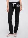Комплект трикотажных брюк (2 пары) oodji #SECTION_NAME# (разноцветный), 16700045T2/46949/1229N - вид 2