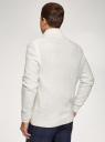 Кардиган фактурной вязки с пуговицами oodji для мужчины (белый), 4L605052M/25365N/1200N