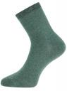 Комплект из трех пар носков oodji для женщины (розовый), 57102466T3/47469/4063M
