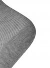 Комплект безбортных носков (3 пары) oodji для женщины (серый), 57102801T3/48022/1 - вид 3