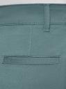Брюки-чиносы хлопковые oodji #SECTION_NAME# (зеленый), 11706207B/32887/6C02N - вид 5