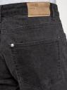 Джинсы базовые прямые oodji для мужчины (серый), 6B130040M-1/50759/2500W