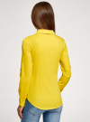 Рубашка базовая с нагрудными карманами oodji #SECTION_NAME# (желтый), 11403222B/42468/5100N - вид 3