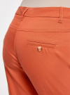 Брюки легкие прямые oodji #SECTION_NAME# (оранжевый), 11700195/35669/5900N - вид 5
