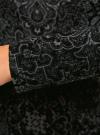 Платье трикотажное с этническим принтом oodji для женщины (черный), 24001070-4/15640/2923E - вид 5