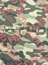 Шорты хлопковые с ремнем oodji для женщины (зеленый), 11806021B/42841/6641O