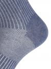 Комплект из трех пар спортивных носков oodji #SECTION_NAME# (синий), 57102811T3/48022/17 - вид 4