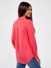 Блузка с нагрудными карманами и регулировкой длины рукава oodji #SECTION_NAME# (розовый), 11400355-3B/14897/4D00N - вид 3
