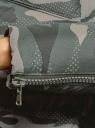 Куртка стеганая с объемным воротником oodji #SECTION_NAME# (зеленый), 10200079/32754/6837O - вид 5