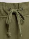 Брюки трикотажные спортивные oodji для женщины (зеленый), 16700030-15B/46173/6800N