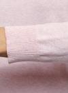 Джемпер базовый с круглым вырезом oodji #SECTION_NAME# (розовый), 63812567-1B/49706/4000M - вид 5