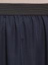 Юбка макси из струящейся ткани oodji для женщины (синий), 13G00002-4B/42816/7900N