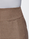 Юбка короткая с карманами oodji #SECTION_NAME# (бежевый), 11605056-2B/22124/3366C - вид 4