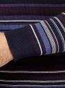 Джемпер в полоску вязаный из хлопка oodji для мужчины (синий), 4L112244M/21166N/7583S