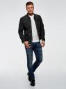 Куртка на молнии с воротником-стойкой oodji #SECTION_NAME# (черный), 1L514012M/46343N/2900N - вид 6