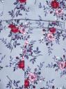 Жакет приталенный базовый oodji для женщины (синий), 21203064-5B/14522/704CF