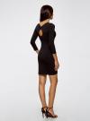 Платье облегающее (комплект из 2 штук) oodji для женщины (черный), 14001193T2/47420/2900N - вид 3