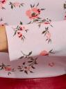 Водолазка базовая из хлопка oodji для женщины (розовый), 15E17001/46147/5419F