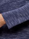Футболка с длинным рукавом и нагрудным карманом oodji #SECTION_NAME# (синий), 5L512011M/48357N/7910M - вид 5