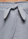 Пижама хлопковая с принтом oodji для женщины (белый), 56002230-3/46154/1020P - вид 5