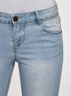 Шорты джинсовые удлиненные oodji #SECTION_NAME# (синий), 12807054B/45877/7000W - вид 4