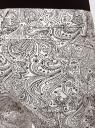 Джинсы slim fit принтованные oodji для женщины (белый), 12103123/35323/1229E