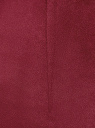 Легинсы из искусственной замши oodji #SECTION_NAME# (красный), 18G07099/47301/4903N - вид 5