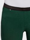Брюки стретч узкие oodji для женщины (зеленый), 11713071-3B/14007/6900N - вид 4