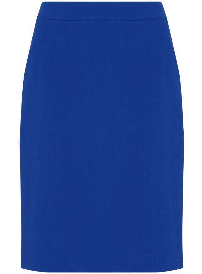Юбка oodji для женщины (синий), 21611105-5/18600/7500N