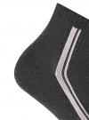 Комплект из трех пар носков oodji #SECTION_NAME# (серый), 57102708T3/48300/4 - вид 3