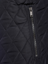 Куртка стеганая с воротником-стойкой oodji для мужчины (синий), 1L111033M/44330N/7900N