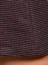 Юбка-трапеция короткая oodji #SECTION_NAME# (коричневый), 11600413-4/45930/4979G - вид 5