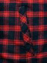 Рубашка утепленная на кнопках oodji #SECTION_NAME# (красный), 1L111030M/47458N/4579C - вид 5