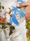 Платье вискозное на пуговицах oodji для женщины (разноцветный), 21900318/42127/1019F - вид 5