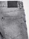 Шорты джинсовые с потертостями oodji #SECTION_NAME# (серый), 6L220021M-1/46627/2300W - вид 5