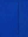 Жилет удлиненный приталенный oodji #SECTION_NAME# (синий), 12300099-9/18600/7501N - вид 5